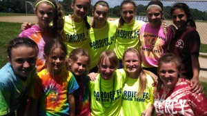 These BRIGHT young ladies really showed their spirit & skill at camp.