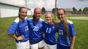 Watch our WNT ... These girls are coming for you.