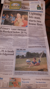 2014's Front Page Coverage at Camp !